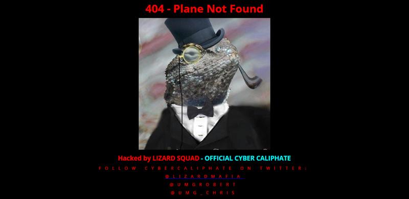 Hackers infiltraron la web de la aerolínea Malaysia Airlines