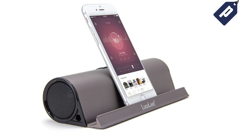 Illustration for article titled Last Chance: Save 60% On Lugulake's Bluetooth Speaker Dock ($29)
