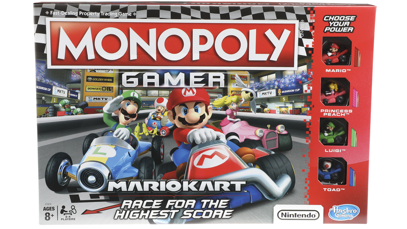 Illustration for article titled The Latest Twist On Monopoly Is... Mario Kart