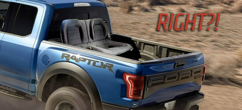 Illustration for article titled The New Ford GT350R Rear Seat Option Should ReallyBe On The Raptor