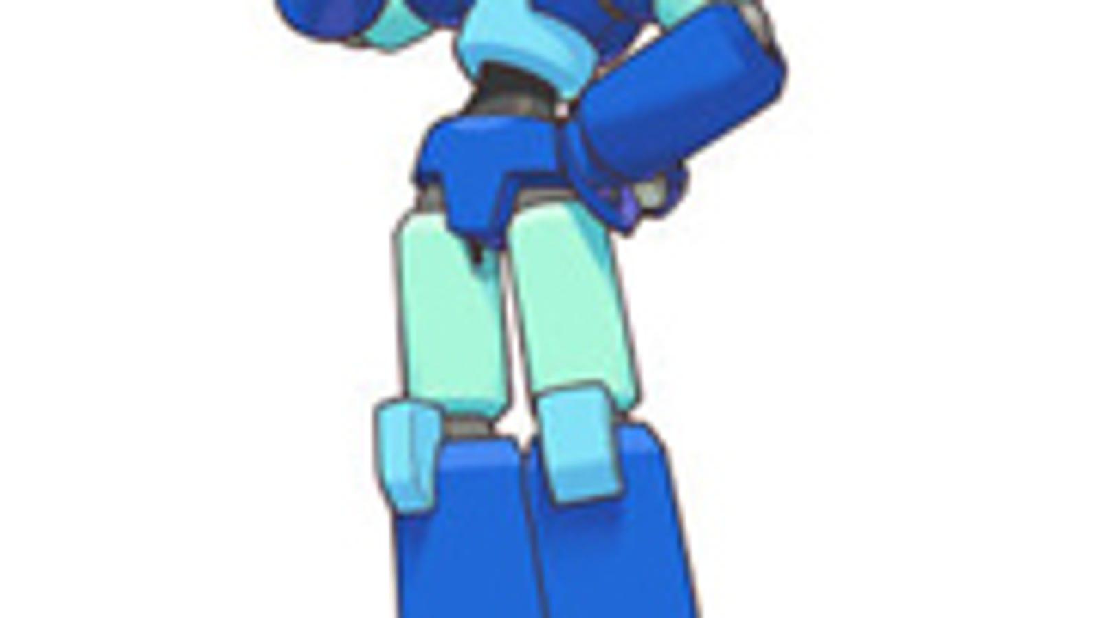 Mega-Man Volnutt Ready To Whoop Arcade Butt-8498