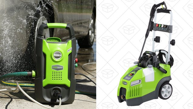 No pressure but these pressure washer discounts are really good you might not have an immediate need for a pressure washer but if you own a home its a useful thing to stash in the back or your garage fandeluxe Image collections