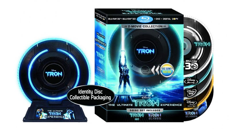 Illustration for article titled Tron: Legacy Comes To Blu-ray (With The Original Tron!)