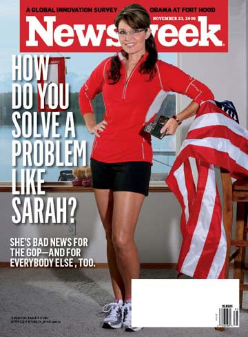 Illustration for article titled Sarah Palin Says Newsweek Photo Is Sexist