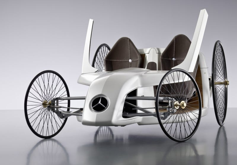 Illustration for article titled Mercedes F-CELL Roadster: Hydrogen-Powered Buggy Concept