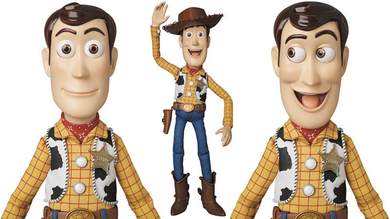 Illustration for article titled Here's the Most Perfect Screen-Accurate Toy Story Woody You Can Buy