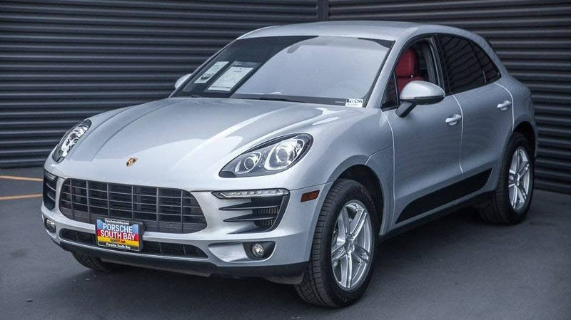 """Illustration for article titled At $37,000, Could This 2015 Porsche Twin-Turbo Crossover Have You Saying """"Yes, We Macan?"""""""