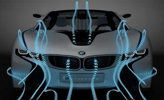 Illustration for article titled BMW's Tron-Like Turbodiesel Concept Rendered For Your Pleasure