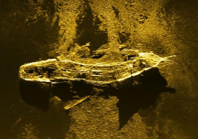 Descubren un barco hundido del siglo XIX buscando el vuelo desaparecido MH370