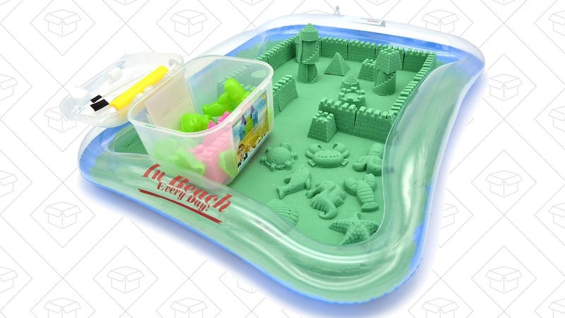 Kinetic Sand Starter Kit, $17 with code 5LX3DVE2