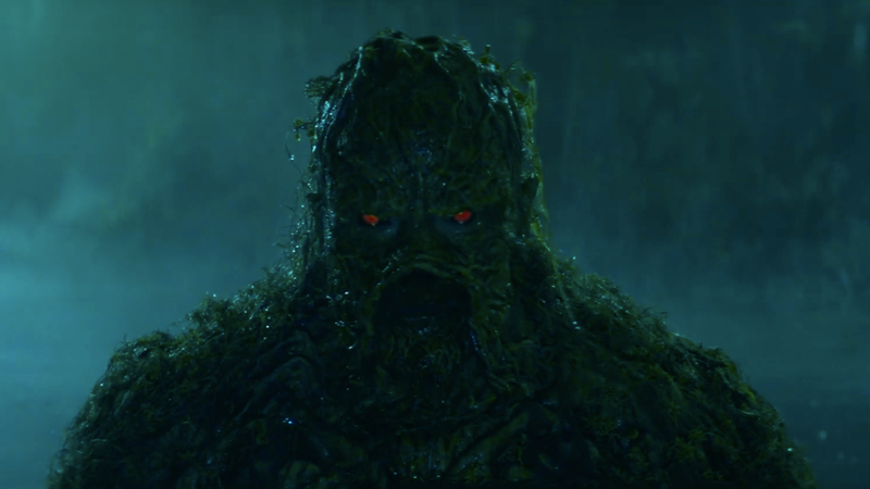 DC Universe Drops Its First Cryptic Swamp Thing Teaser Amid Reports of Production Woes