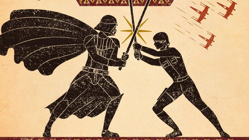 The Odyssey of Star Wars Turns the Original Trilogy Into Epic Poetry