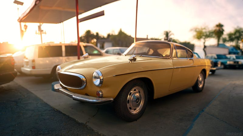Illustration for article titled Would You Drive The Volvo P1800 For 1 Million Miles?