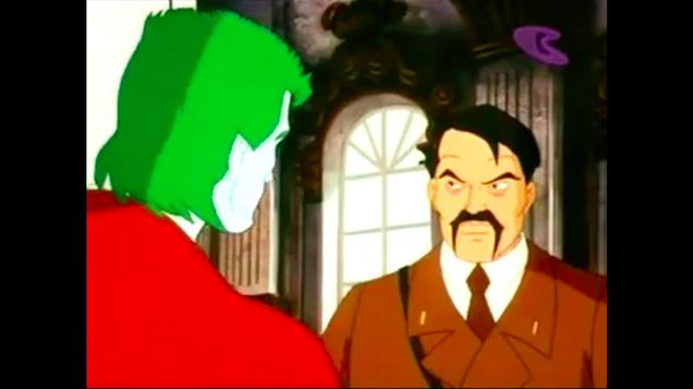 The Great Captain Planet/Hitler Face-off of 1995