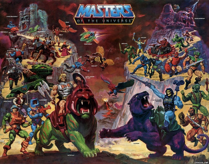Illustration for article titled Every Masters of the Universe Action Figure, Ranked