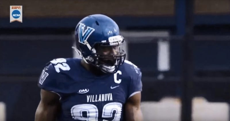 Illustration for article titled Everyone's Getting Horny Over A Villanova Defensive Lineman