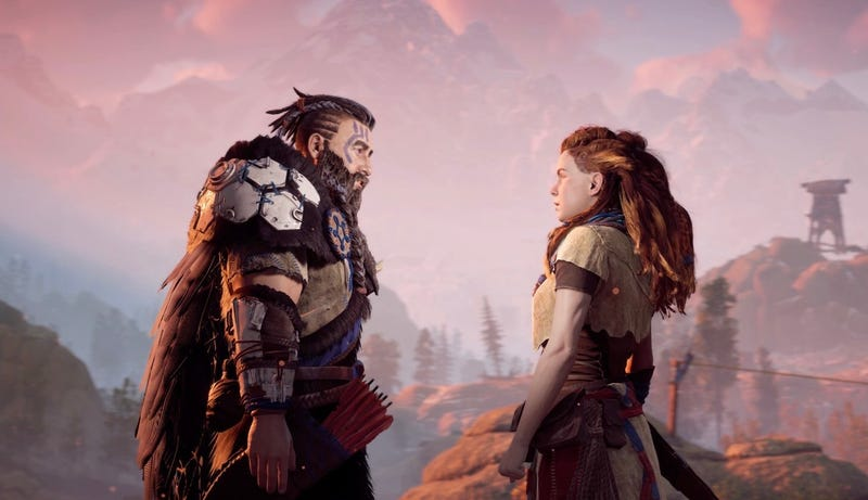 How One Of Horizon Zero Dawns Most Powerful Scenes Connects Aloys Childhood With Her Future