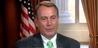 Speaker of the House John Boehner (YouTube)