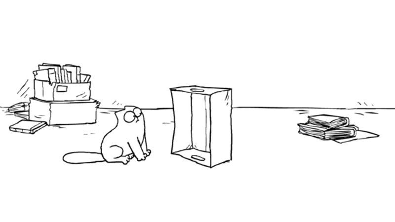 Screenshot: Simon's Cat Logic