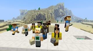 Illustration for article titled Minecraft llega oficialmente a la escuela con una versión para profesores y alumnos