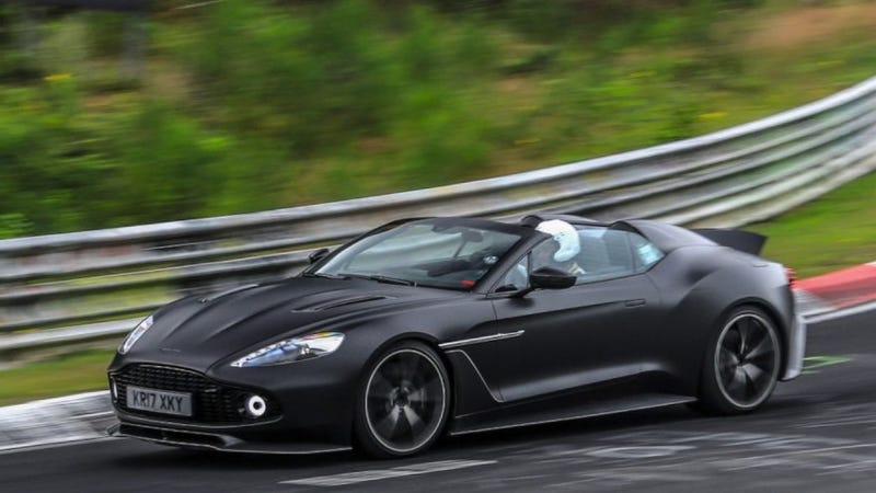 Aston Martin Vanquish Zagato Roadster Motorcove