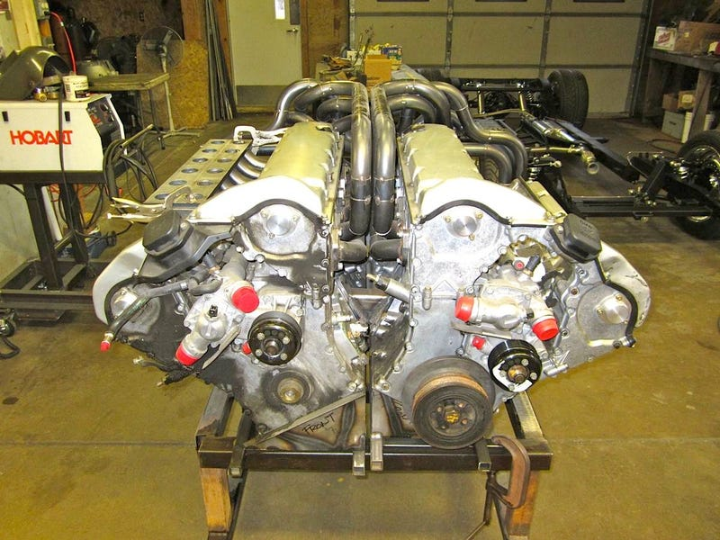 W24 Engine Bugatti W24 Engine | www.pixsh...