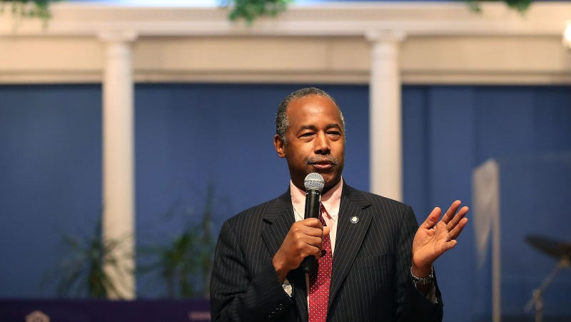 Illustration for article titled Ben Carson Takes Job at Housing Department Quite Literally, Purchases $31,000 Dining Set