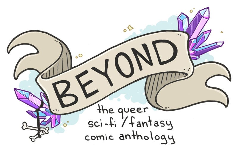 Illustration for article titled Help Bring This Queer Science Fiction Comics Anthology To Life