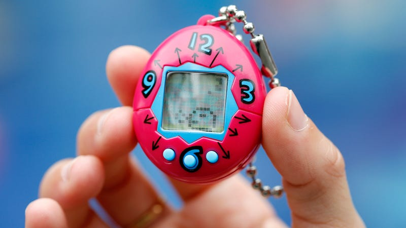 Illustration for article titled Tamagotchis are finally coming to your phone, where you can slowly kill them at your own convenience