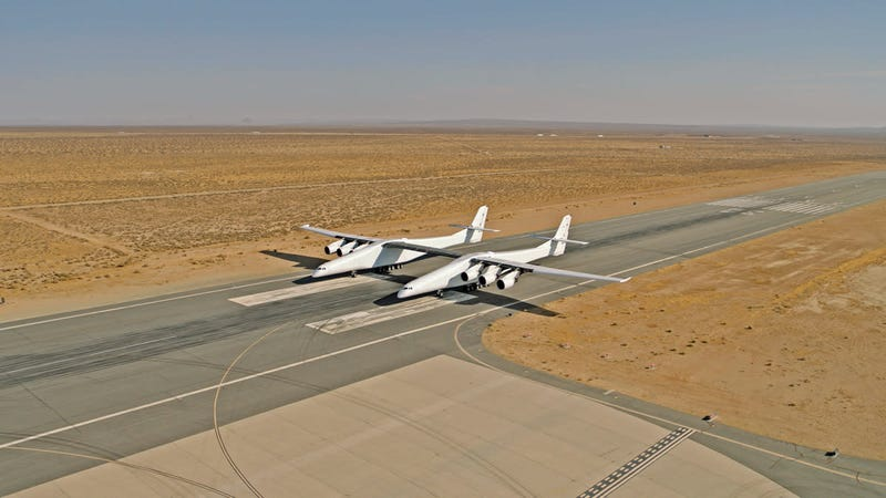 World's Largest Plane Could Give Elon Musk The Space Race He's Craving