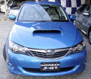 Illustration for article titled JDM Subaru Impreza Dubbed S-GT
