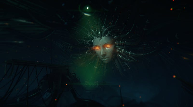 Illustration for article titled An Artist Is Faithfully Recreating System Shock 2's Greatest Scene
