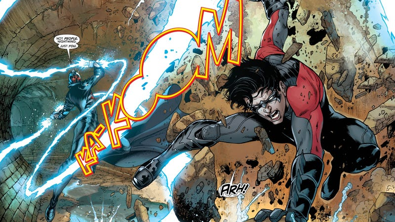 Illustration for article titled Dick Grayson Goes Underground in This Preview of Nightwing #12