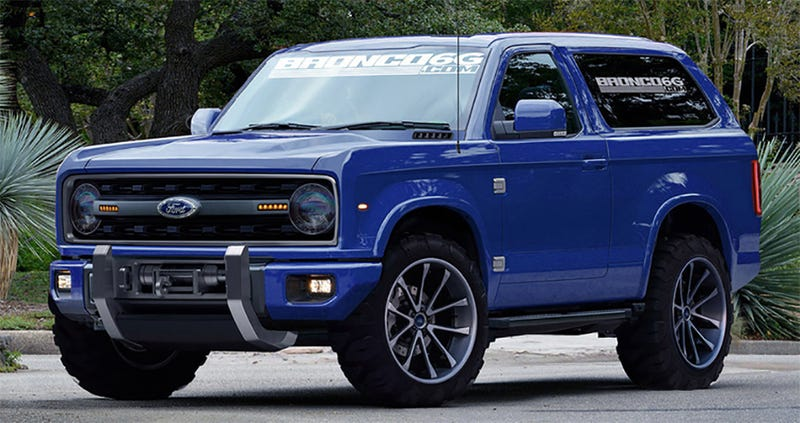 The New Ford Bronco Will Be A Real Body-On-Frame SUV