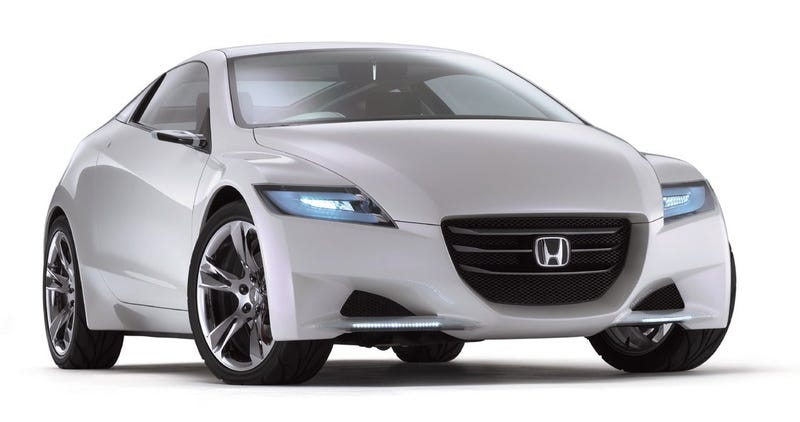 Illustration for article titled Honda CR-Z Hybrid Concept Car Too Awesome to Be a Honda