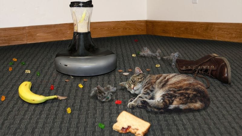 Illustration for article titled New Roomba Blender Makes Smoothie Out Of Everything In Its Path
