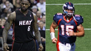 Illustration for article titled ESPN Manages To Work LeBron James Into A Tim Tebow Story