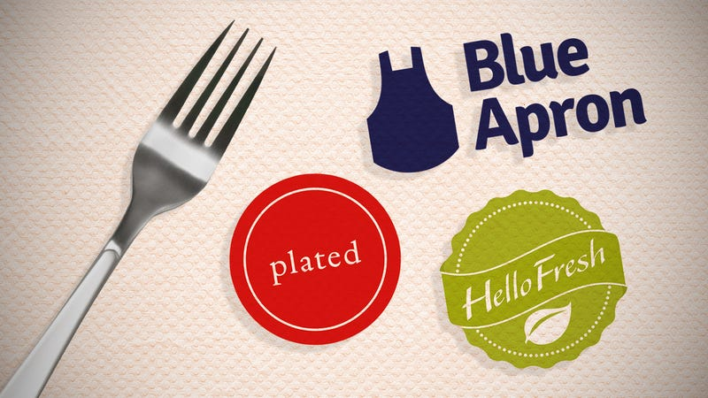 Illustration for article titled The Best Meal Kit Services: Blue Apron vs. Hello Fresh vs. Plated