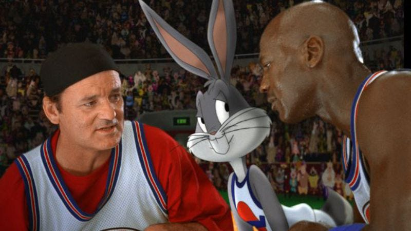 Illustration for article titled A live reading of Space Jam is a thing that is actually happening