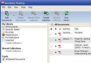 Illustration for article titled Mendeley Manages Your Documents on Your Desktop and in the Cloud