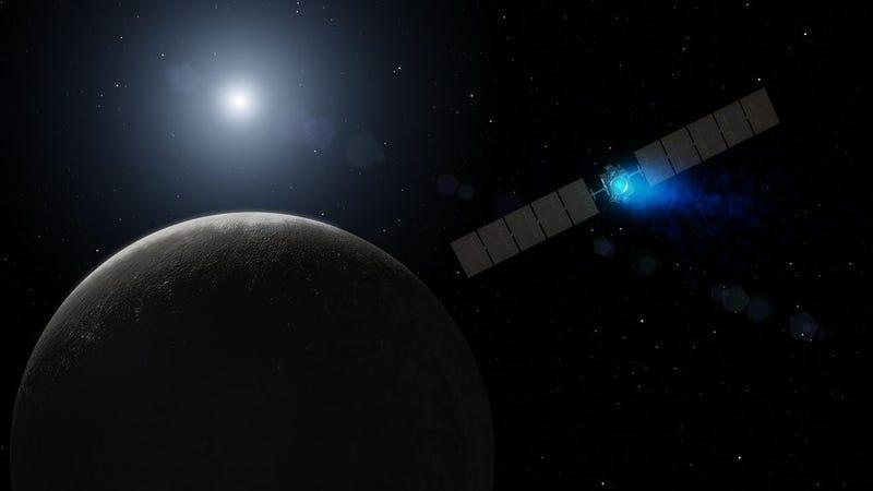 Illustration for article titled Histórico: la sonda Dawn ha llegado a la órbita del planeta enano Ceres