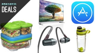 Illustration for article titled Pack Your Lunch in Style, Upgrade to 4K, Save 33% on iTunes [Deals]