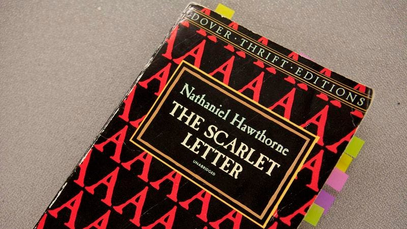 Copy Of The Scarlet Letter Cant Believe The Notes High Schooler