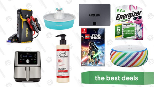 Thursday s Best Deals: Tacklife 800A Jump Starter, Anker PowerPort Hub, Carol s Daughter Hair Milk, LEGO Star Wars: The Skywalker Saga, Instant Vortex Plus 6-in-1 Air Fryer, and More
