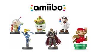 American Amiigos Smash Bros Wave 5b And Classic 8 Bit Mario Amiibo