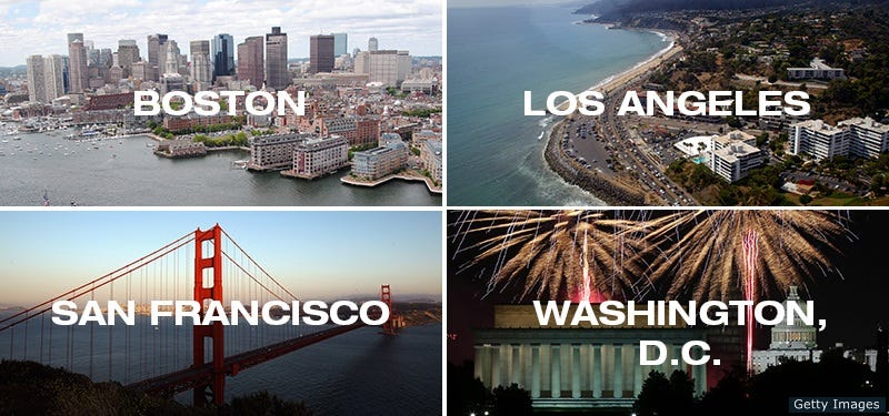 Illustration for article titled The Four U.S. Cities That Want to Host the 2024 Olympics