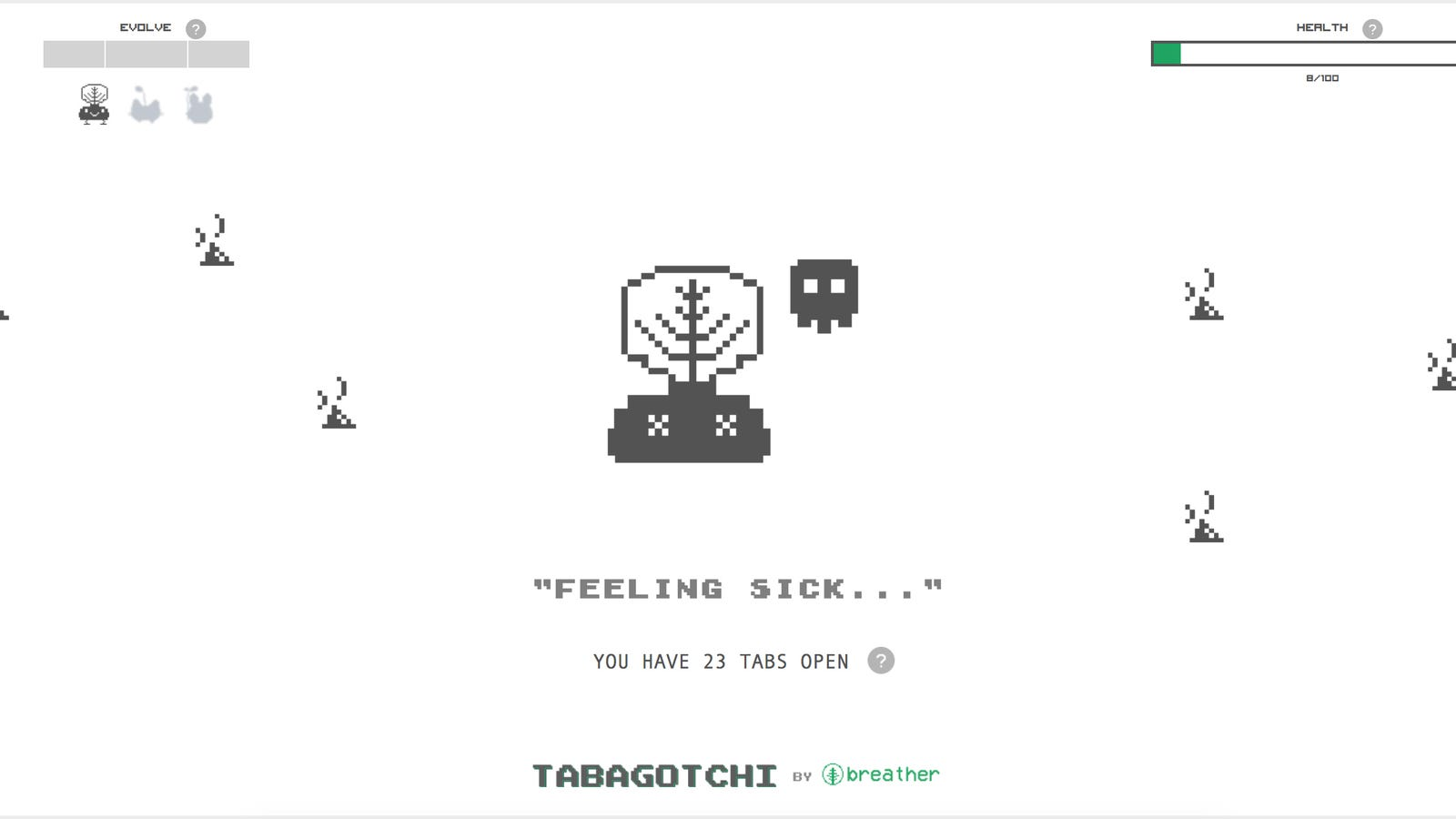 Declutter Your Chrome Browser Tabs or This Tamagotchi Clone Will Die