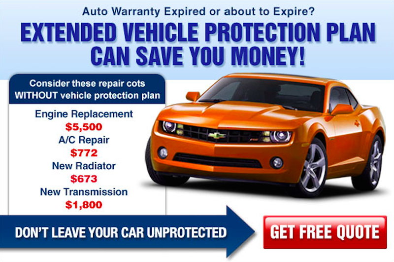 Car extended max warranty