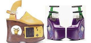 Illustration for article titled Nintendo Gameboy Platform Shoes