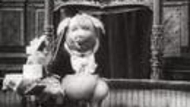 Dancing Pig 1907 This freaky vampire pi...